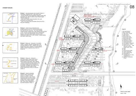 Shopping Center Floor Plan by Jongarsitek 2 3 2009