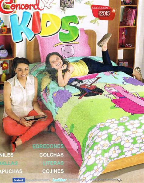 edredones concord 2018 catalogo concord kids colchas 2015 2016 by www