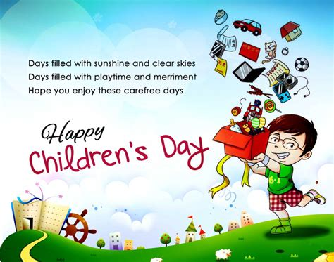 s day for best happy children s day quotes sayings slogans 2016