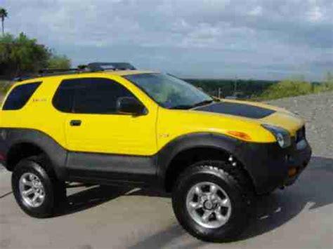 Suzuki Vehicross For Sale Isuzu Vehicross 2001 Proton Yellow Well Maintained