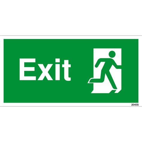 Exit Sign exit sign right facing shop signs sign maker sign