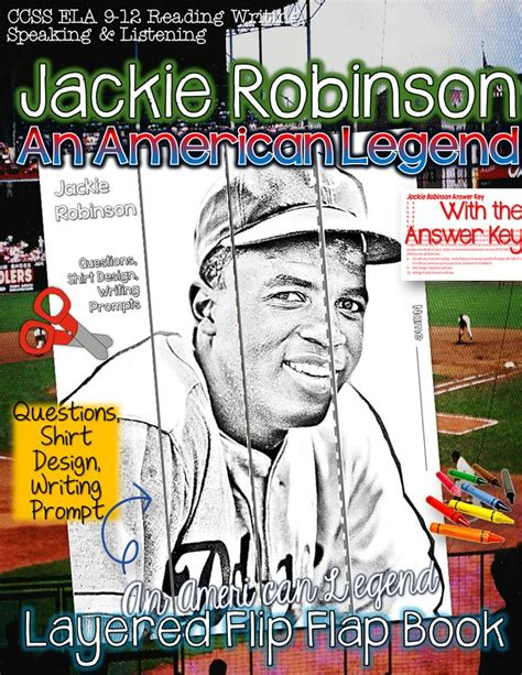 Jackie Robinson An American Poem 1000 Images About Jackie Robinson Second Grade On Mini Books Black History Month