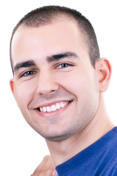 buzzed hair and balding 2016 hairstyles for men with receding hairlines