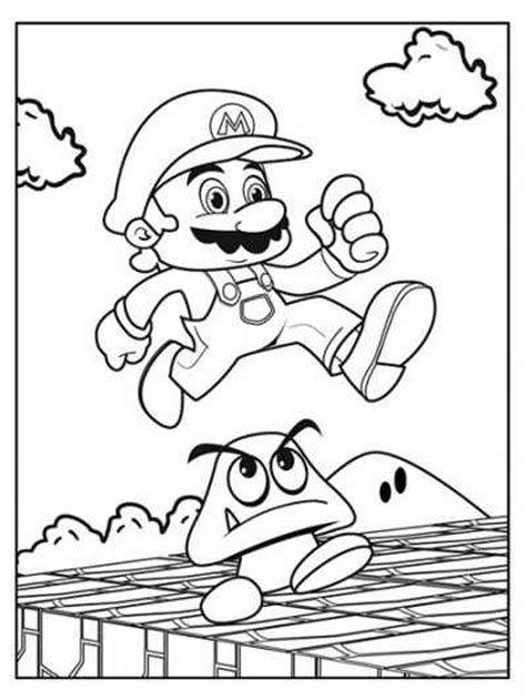 super mario coloring pages alex s birthday pinterest