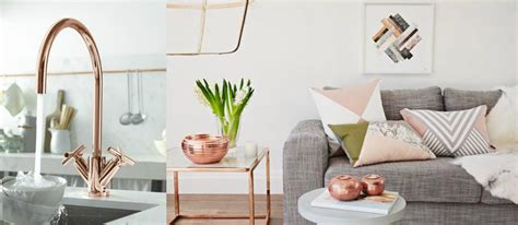 home design gold help top 20 copper gold home decor trending copper rose gold