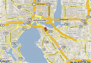 jacksonville florida on a map map of scottish inns jacksonville jacksonville
