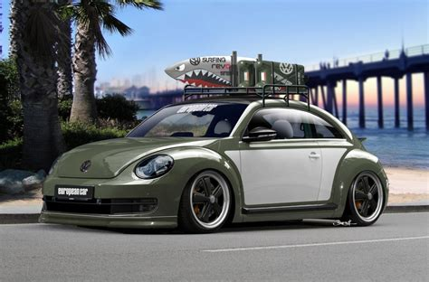 volkswagen beetle modified volkswagen brings beetle fleet to 2012 sema