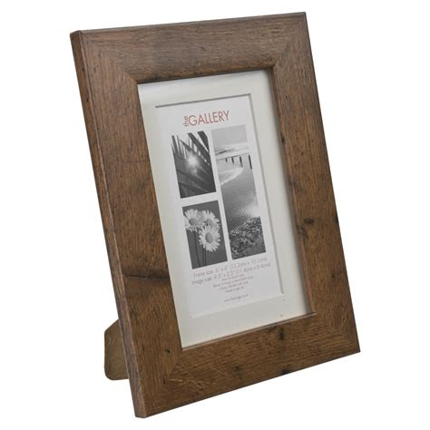 rustic mounted photo frame