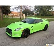 Matte Lime Green Nissan GTR  MyDreamCar Pinterest