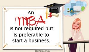 Is Mba Necessary For Doing Business by How To Start A Business With No Money And Bad Credit