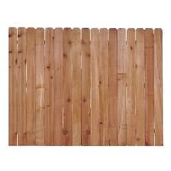 in x 6 ft western cedar ear wood fence picket at