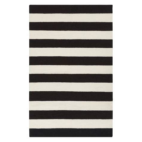 Black And White Striped Area Rug Black And White Striped Rug Cuckoo 4 Area Rugs Products Rugs And Black