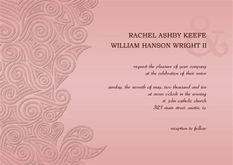 free invitation templates for word 2010 wedding invitation wording wedding invitation templates