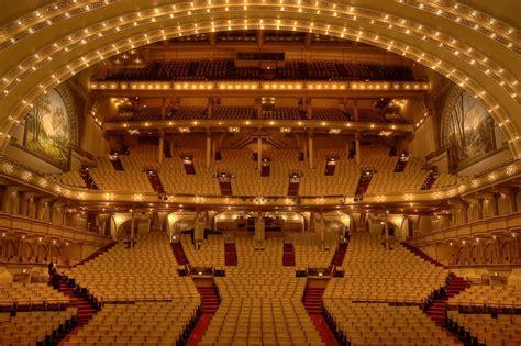 theater chicago seating capacity auditorium theatre chicago venue hdr the theatre
