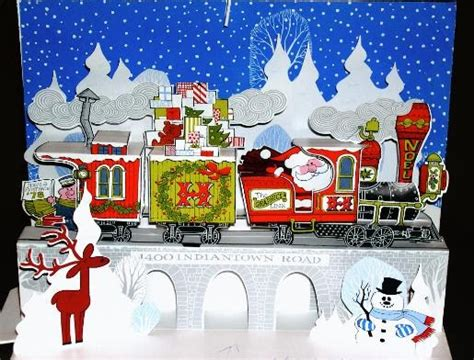 christmas cards merry christmas train card xmas train wishes