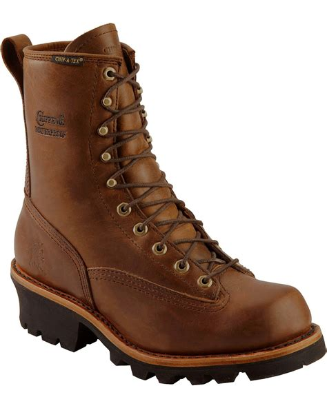 chippewa logger boots chippewa s steel toe insulated logger work boots