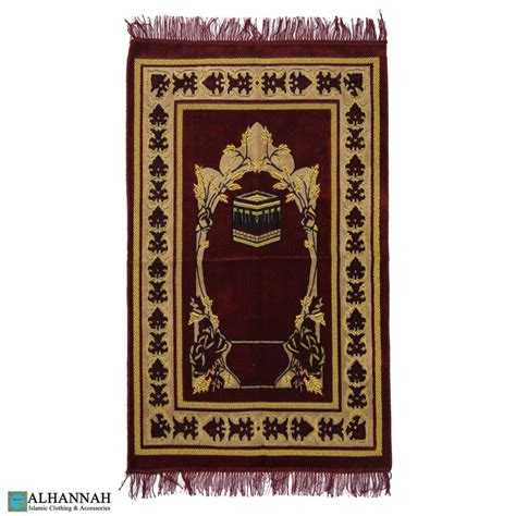 tappeto turco tappeto turco di preghiera kaaba motif ii1109