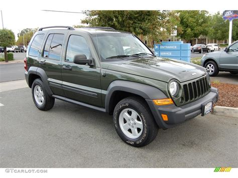 green jeep liberty 2007 jeep green metallic jeep liberty sport 21115776