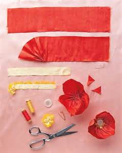 flower decoration fabric poppy home decorating ideas