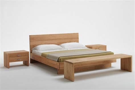 Modern Wooden Bed Frames Excellent Solid Wood Bed For Both Modern And Classic Bedrooms Tips And Ideas Contemporary