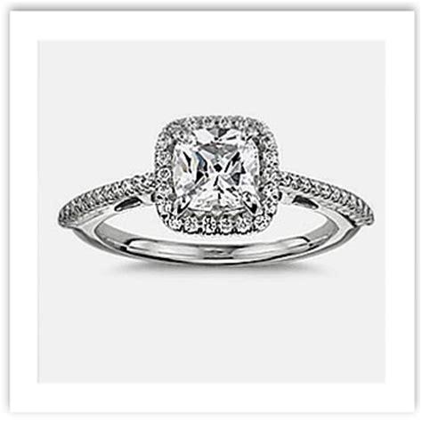 cushion cut engagement rings vintage classic