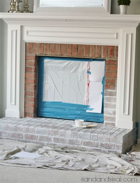 25 Best Ideas About How To Whitewash Brick On Pinterest How To Redo A Brick Fireplace