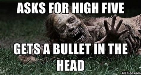 Funny Zombie Memes - for walking dead funny zombie quotes quotesgram