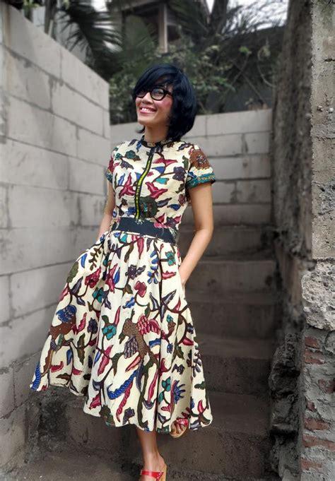Baju Jumpsuit Fl Jp Mini karena batik nggak hanya untuk orang tua saja batik dress batik dress dress