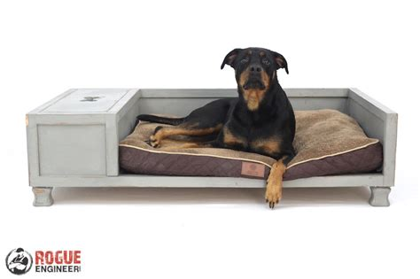 huge dog bed diy large dog bed plans rogue engineer
