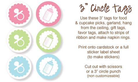 printable stickers baby shower the ultimate list of baby shower clip art babyshower