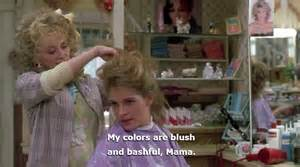 my colors are blush and bashful