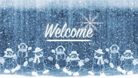ca christmas welcome message snowfall and happy new year 2018 celebration message handwritten on the shiny fresh morning snow