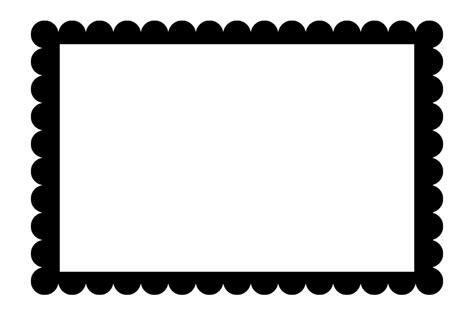 scalloped frame png  scalloped framepng transparent