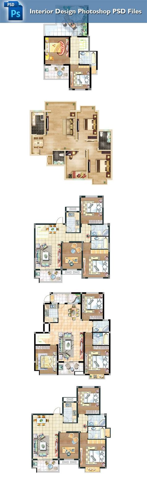 interior design layout photoshop 15 types of interior design layouts photoshop psd template