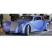 In His Extravagent $900000 Custom Built Blue Car Daily Mail Online