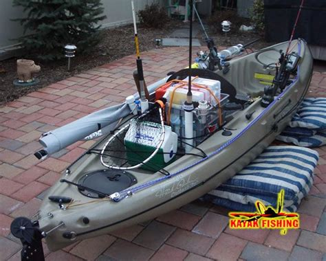 cool fishing boat accessories all rigged out cool kayak stuff pinterest fish