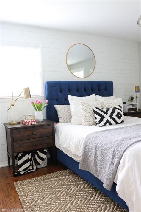navy headboard best 25 blue headboard ideas on pinterest navy