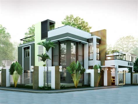 2 modern house plans modern house designs series mhd 2014010 eplans