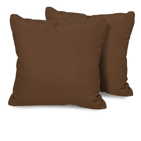 cocoa outdoor throw pillows square set of 2