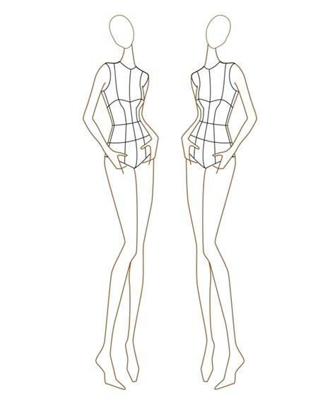 dress design model template базы и шаблоны для дизайна модных нарядов youloveit ru