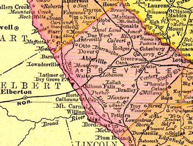 Abbeville County Records The Arnold Family Question