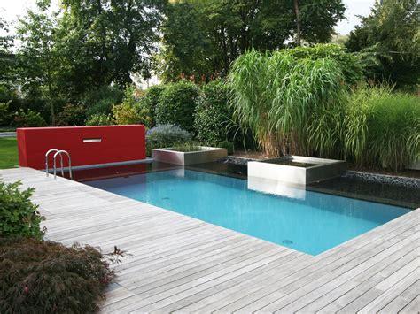 Gestaltung Rund Um Den Pool by Hybrid Pool Sp 252 Rck Galabau