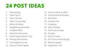 social media for real estate agents