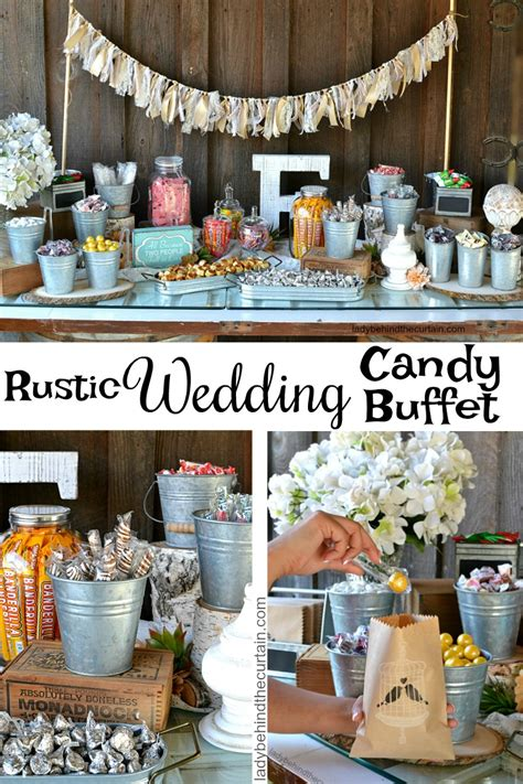 Wedding Anniversary Buffet Ideas by Rustic Wedding Buffet