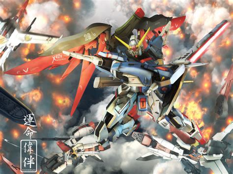 gundam akatsuki wallpaper destiny gundam s akatsuki by sandrum on deviantart