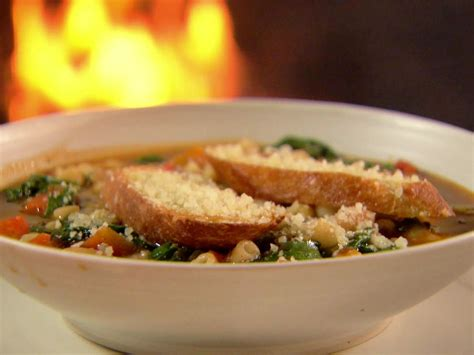 ina garten food network winter minestrone and garlic bruschetta recipe ina
