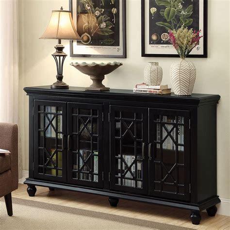 lattice doors accent cabinet black accent chests