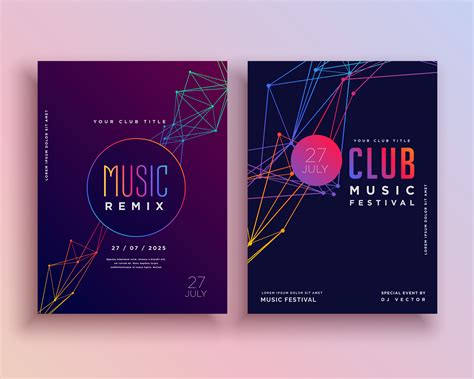 Club Card Flyer Templates by Club Flyer Template Design Free