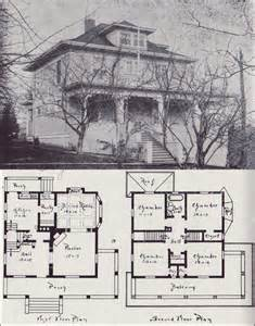 foursquare house plans 1908 western home builder design no 13 v w voorhees seattle residential architecture