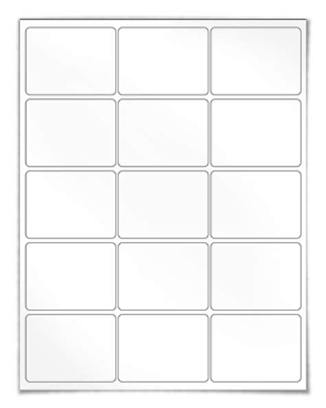 Label Template 18 Per Sheet